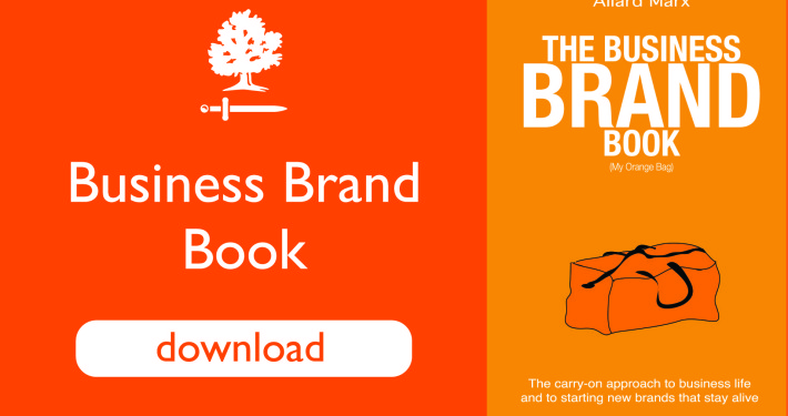 Business brand Book by Allard Marx