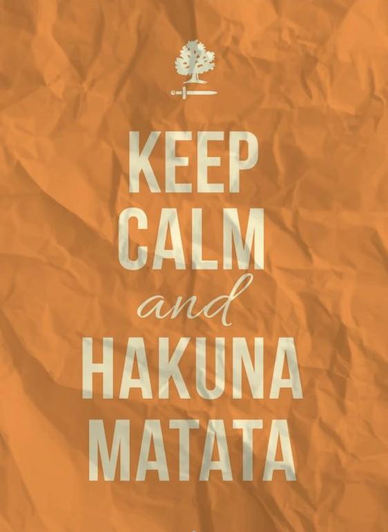 Incide Hakuna Matata
