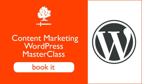 Content Marketing training WordPress